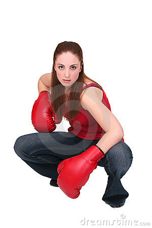 Boxer Girl Royalty Free Stock Image - Image: 8498956