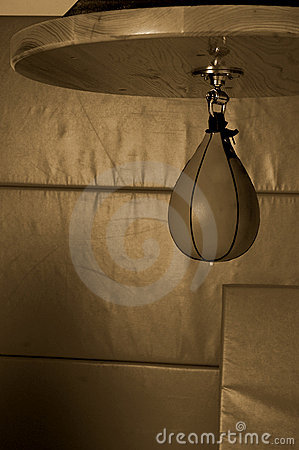 Free Boxer S Speed Bag Royalty Free Stock Photography - 495307