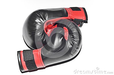 Boxers gloves isolated