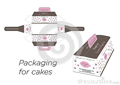 Boxes for the cake