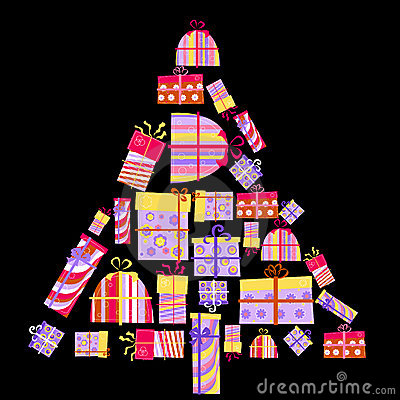 Boxes gåvaformtreen