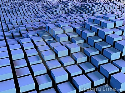 Boxes and squares background