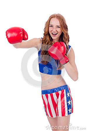 Boxeur de femme