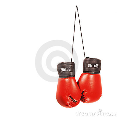 Free Boxing Gloves Royalty Free Stock Images - 3932219