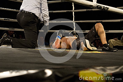 Boxing Knock Out Editorial Image