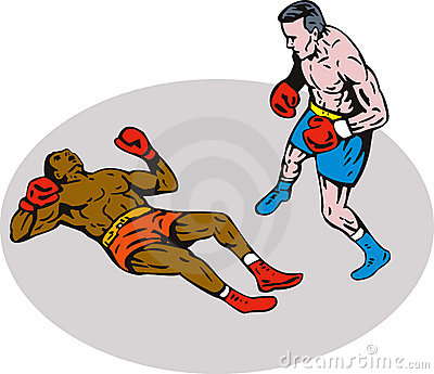 Boxing knockout winner