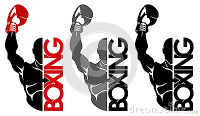 Boxing logo Vector Illustration