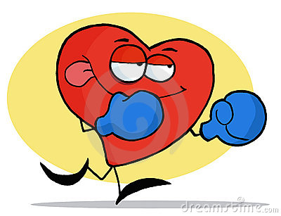 Boxing Red Heart