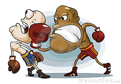Boxing on Ring.