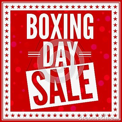 Boxningdagförsäljning