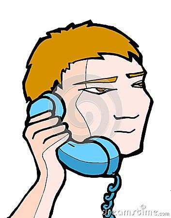 Free Boy 02 Phone Stock Images - 5309914
