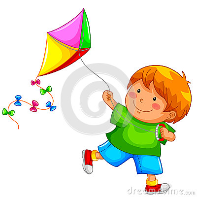Free Boy And Kite Royalty Free Stock Photos - 27990988