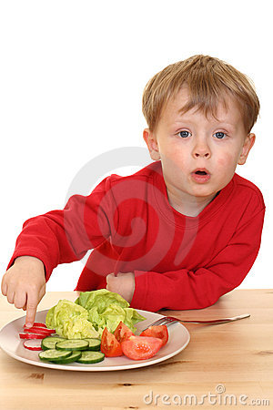 Free Boy And Vegetables Stock Photos - 2294093