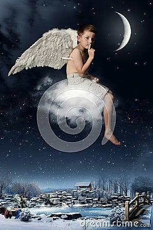 The boy-angel