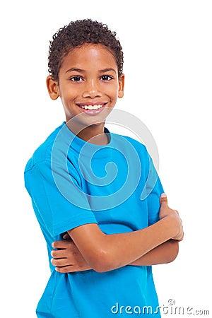 Boy arms crossed