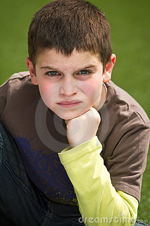 Boy With Attitude Royalty Free Stock Photo - Image: 18556075