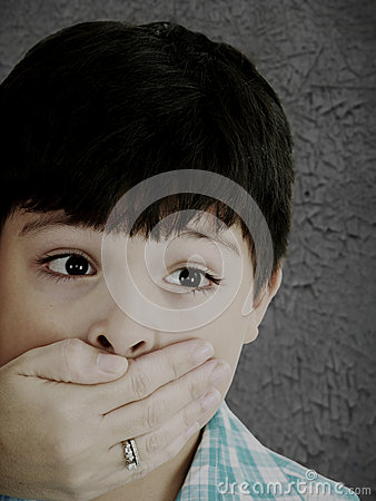 Free Boy Being Abused Stock Photography - 28238002