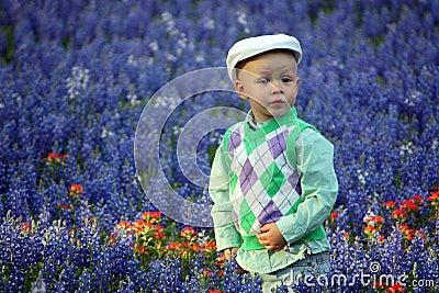Boy in Bluebonnets