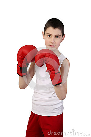 Free Boy Boxer Stock Images - 85483904