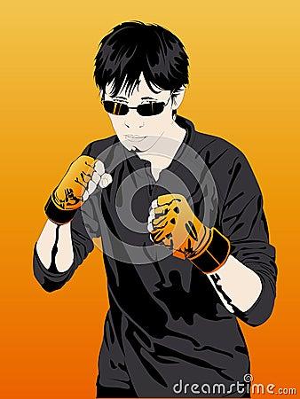 Boy boxer, Extreme Sports