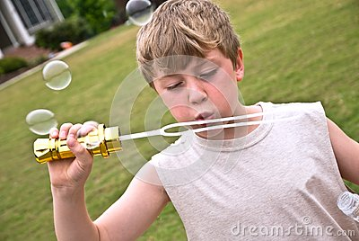 Boy With Bubbles II