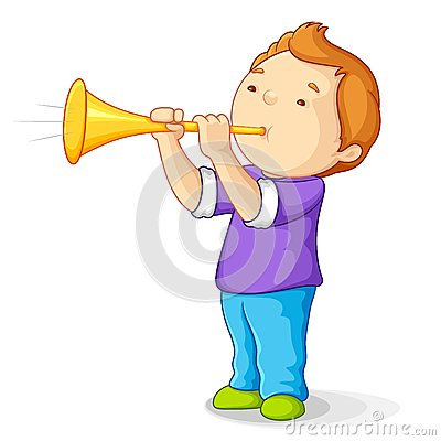 Boy with Bullhorn