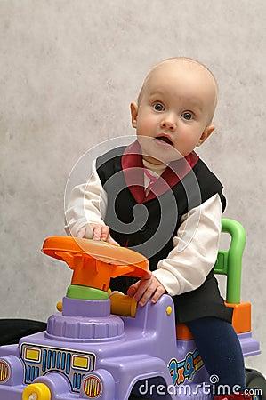 Boy with the car 1
