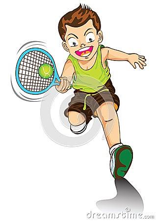 Tennis Cartoon Stockbilder und Bilder und Vektorgrafiken