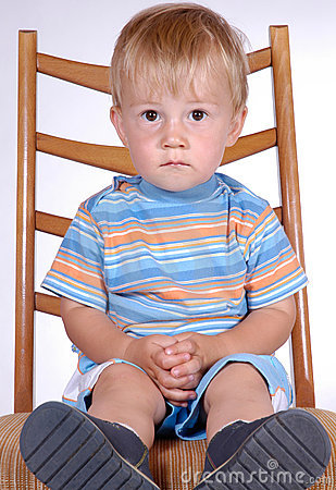 Boy on chair III