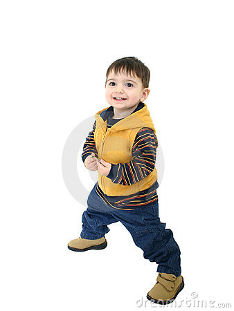 Free Boy Child In Fall Clothes Stock Images - 46174