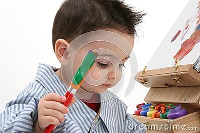 Boy Child Painting 02