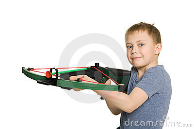 Boy with the crossbow