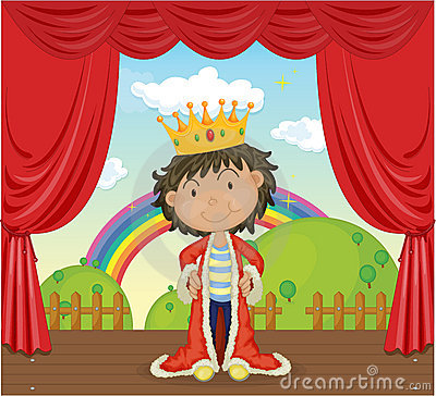 A Boy with a Crown