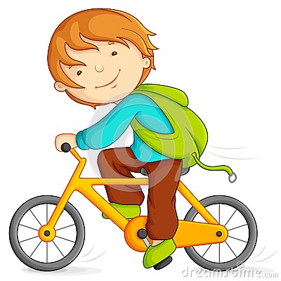 Free Boy Cycling Stock Image - 25767631