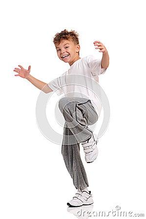 Free Boy Dancing Royalty Free Stock Images - 27563999