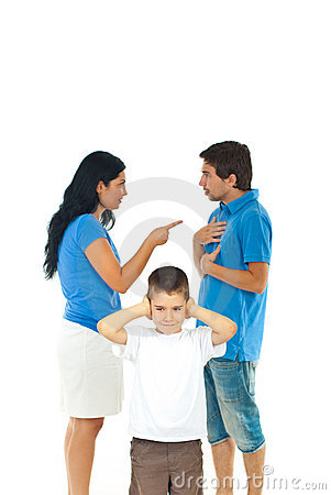 Free Boy Don T Wanna Hear Parents Conflict Stock Photo - 21343440