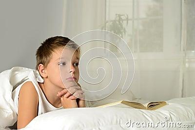 Boy is dreaming