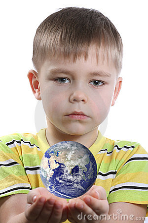 Boy with Earth