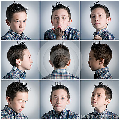 Free Boy Expressions Stock Image - 24323591