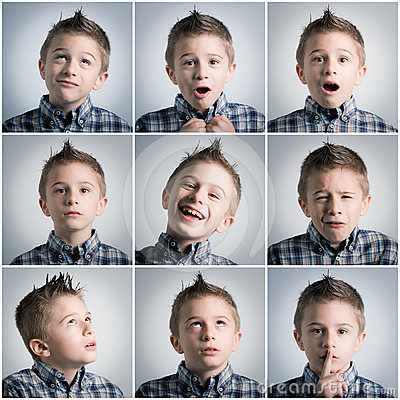 Free Boy Expressions Stock Photo - 24325970