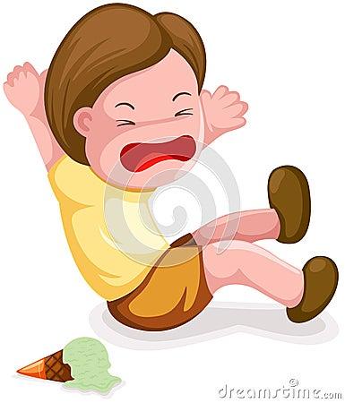Boy Fall Down Stock Image Image 22859301