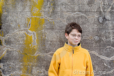 Boy in   Fleece Pullover