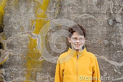 Boy in  Fleece Pullover