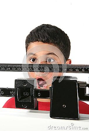 Boy Gaining Weight