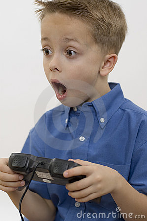 Free Boy / Game / White Stock Photo - 286270