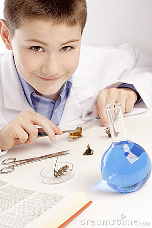 Boy Genius Scientist