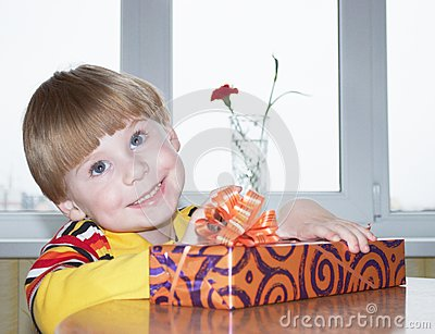 The boy with a gift