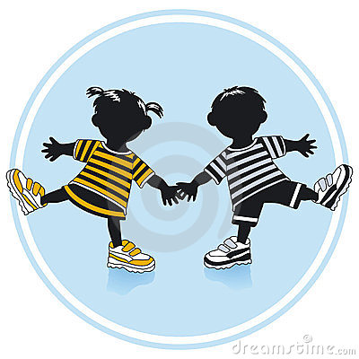 Boy And Girl Royalty Free Stock Image - Image: 23682766