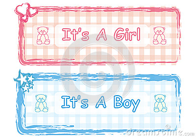 It is a Boy & Girl