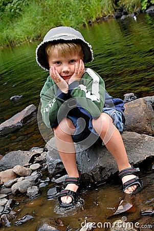 Free Boy Having Fun In Water Royalty Free Stock Photos - 29057288